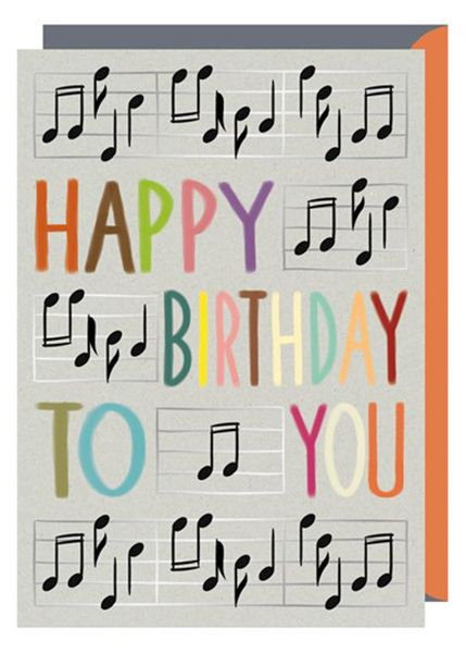 Happy Birthday To You Card Music Birthday Card Musical Gifts Online