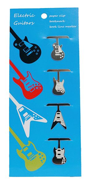 Guitar Bookmark by AGR