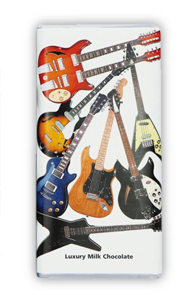 Guitar Chocolate Bar - Music Chocolate Gift | musical gifts online