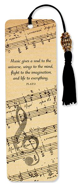 Music Beaded Bookmark by PP