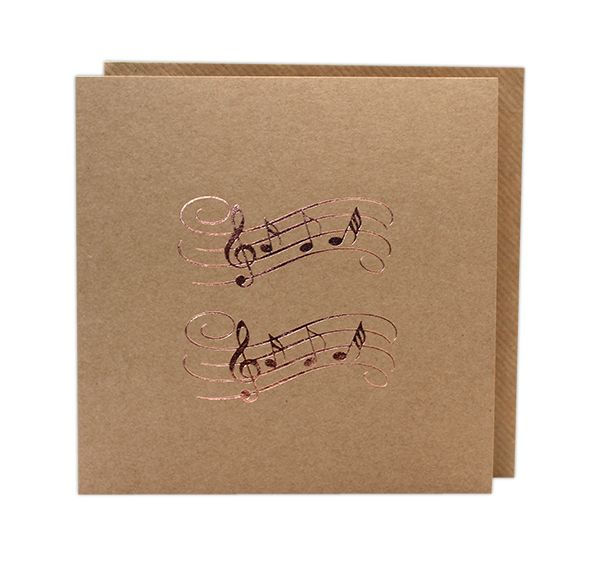 Music Greetings Card by Col Cards - Music Card | musical gifts online
