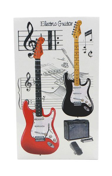 Fender Guitar Notebook - Music Stationery | musical gifts online