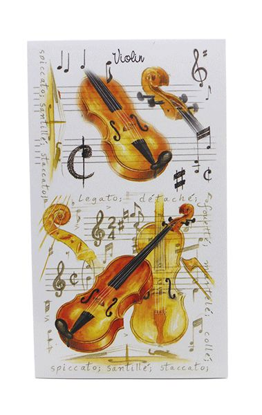 Violin Pocket Notebook - Music Stationery | musical gifts online