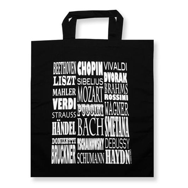 Music Composers Tote Bag - Music Shopping Bag | musical gifts online