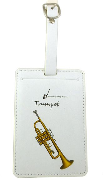 Trumpet Luggage Label by MD
