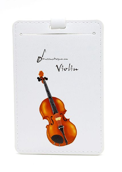 Violin Luggage Label – Music Student Gift | musical gifts online