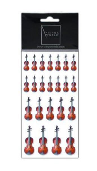 Violin Stickers by VW