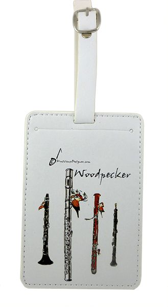 Woodpecker Luggage Label by MD